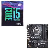 Intel Core i5-9600K, ASUS Prime B360M-A, CPU / Motherboard Bundle
