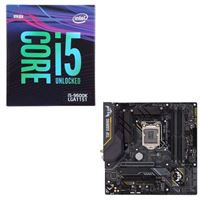 Intel Core i5-9600K, ASUS TUF Z390M-Pro Gaming WiFi, CPU / Motherboard Bundle