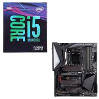 Intel Core i5-9600K, Gigabyte Z390 Aorus Master, CPU / Motherboard Bundle