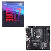 Intel Core i7-9700K, ASUS Prime H370M-Plus, CPU / Motherboard Bundle
