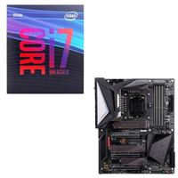 Intel Core i7-9700K, Gigabyte Z390 Aorus Master, CPU / Motherboard Bundle