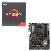 AMD Ryzen 5 2600X with Wraith Spire Cooler, - Micro Center