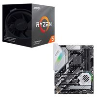 AMD Ryzen 5 3600X with Wraith Spire Cooler, ASUS Prime X570-Pro, CPU / Motherboard Bundle