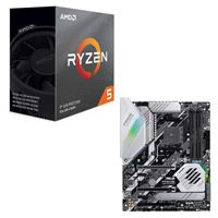 AMD Ryzen 5 3600 with Wraith Spire Cooler, ASUS Prime X570-Pro, CPU / Motherboard Bundle