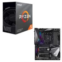 AMD Ryzen 5 3600 with Wraith Spire Cooler, Gigabyte X570...