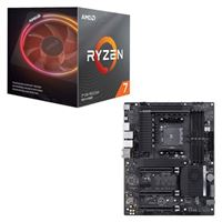 AMD Ryzen 7 3700X with Wraith Prism Cooler, ASUS Pro WS X570-ACE, CPU / Motherboard Bundle