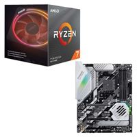 AMD Ryzen 7 3700X with Wraith Prism Cooler, ASUS Prime X570-Pro, CPU / Motherboard Bundle