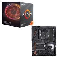 AMD Ryzen 7 3700X with Wraith Prism Cooler, Gigabyte X570 Aorus Pro WiFi, CPU / Motherboard Bundle