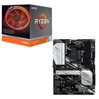 AMD Ryzen 9 3900X with Wraith Prism Cooler, ASRock X570 PRO4, CPU / Motherboard Bundle