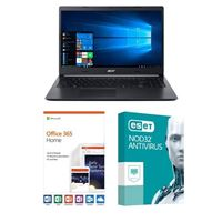 Acer Aspire 5 A515-54-597W, 1 Year Office 365 Home, 1 Year NOD32 Antivirus, Laptop Bundle