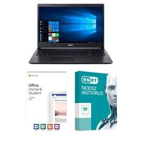 Acer Aspire 5 A515-54-597W, Office 2019 Home and Student, 3 Year NOD32 Antivirus, Laptop Bundle