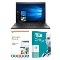 HP Envy x360 15-cp0010nr, 1 Year Office 365 Personal, 1 Year NOD32 Antivirus, Laptop Bundle