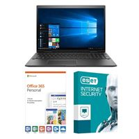 HP Envy x360 15-cp0010nr, 1 Year Office 365 Personal, 1 Year ESET Internet Security, Laptop Bundle