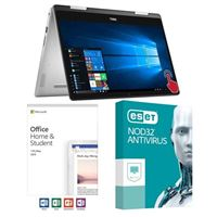 Dell Inspiron 14 5482, Office 2019 Home and Student, 3 Year NOD32 Antivirus, Laptop Bundle