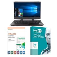 HP Omen 15-dc1054nr, 1 Year Office 365 Business Premium, 3 Year NOD32 Antivirus, Laptop Bundle