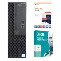Dell OptiPlex 3060 KM82W, 1 Year Office 365 Home, 1 Year NOD32 Antivirus, Desktop Computer Bundle