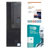 Dell OptiPlex 3060 KM82W, 1 Year Office 365 Home, 2 Year NOD32 Antivirus, Desktop Computer Bundle