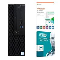 Dell OptiPlex 3060 KM82W, 1 Year Office 365 Business Premium, 3 Year ESET Internet Security, Desktop Computer Bundle