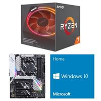 AMD Ryzen 7 2700X, ASUS Prime X470-Pro, Windows 10 Home 64-bit Computer Build Bundle