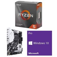 AMD Ryzen 5 3600, ASUS Prime X570-Pro, Windows 10 Pro 64-bit Computer Build Bundle
