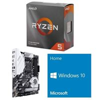 AMD Ryzen 5 3600, ASUS Prime X570-Pro, Windows 10 Home 64-bit Computer Build Bundle