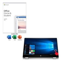 HP Pavilion x360 Convertible 15 dq1052nr Laptop Computer bundled with Microsoft Office Home and Student 2019