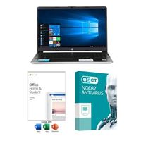 HP 15-dy1037nr Laptop Computer bundled with Microsoft Office Home and Student 2019 and ESET NOD32 Antivirus 3 Year 1 PC