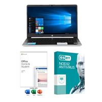 HP 15-dy1037nr Laptop Computer bundled with Microsoft Office Home and Student 2019 and ESET NOD32 Antivirus 1 Year 1 PC