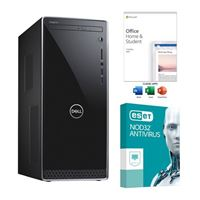 Dell Inspiron 3670 Desktop Computer bundled with Microsoft Office Home and Student 2019 and ESET NOD32 Antivirus 3 Year 1 PC