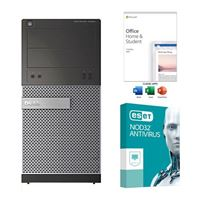 Dell OptiPlex 7020 SFF Refurbished Desktop Computer bundled with Microsoft Office Home and Student 2019 and ESET NOD32 Antivirus 3 Year 1 PC