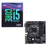 Intel Core i5-9600K, Gigabyte B365 Ultra Durable, CPU /...
