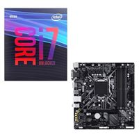 Intel Core i7-9700K, Gigabyte B365 Ultra Durable, CPU /...