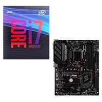 Intel Core i7-9700K, MSI Z390-A Pro, CPU / Motherboard...