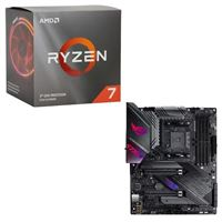 AMD Ryzen 7 3700X with Wraith Prism Cooler, ASUS X570-E ROG Strix Gaming, CPU / Motherboard Bundle