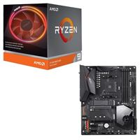 AMD Ryzen 9 3900X with Wraith Prism Cooler, Gigabyte X570 Aorus Elite WiFi, CPU / Motherboard Bundle