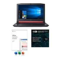 Acer Nitro 5 AN515-53-52FA Laptop bundled with Microsoft Office Home and Student 2019 and ESET NOD32 Gamer Edition 1 Year 1 PC