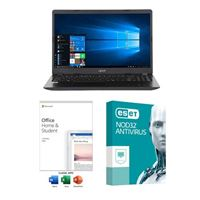 Acer Aspire 3 A315-54-530D Laptop bundled with Microsoft Office Home and Student 2019 and ESET NOD32 Antivirus 3 Year 1 PC