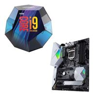 Intel Core i9-9900K, ASUS Z390-A Prime, CPU / Motherboard Bundle