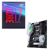 Intel Core i7-9700K, ASUS Z390-A Prime, CPU / Motherboard Bundle