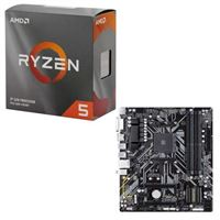 AMD Ryzen 5 3600 with Wraith Stealth Cooler, Gigabyte B450M DS3H, CPU / Motherboard Bundle