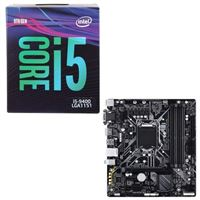 Intel Core i5-9400, Gigabyte B365 Ultra Durable, CPU / Motherboard Bundle