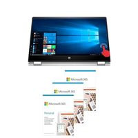 HP Pavilion x360 Convertible 15-dq1052nr Laptop Computer bundled with Microsoft 365 Personal - (3) 1 Year Subscriptions