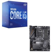 Intel Core i5-10400, Gigabyte Z490 Aorus PRO AX, CPU / Motherboard Bundle