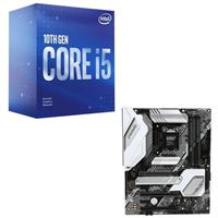 Intel Core i5-10600K, ASUS Z490-A Prime, CPU / Motherboard Bundle