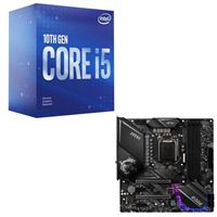 Intel Core i5-10600K, MSI Z490 MPG Gaming Edge WiFi, CPU / Motherboard Bundle