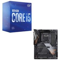 Intel Core i5-10600K, Gigabyte Z490 Aorus Ultra, CPU / Motherboard Bundle