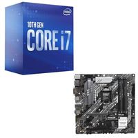 Intel Core i7-10700, ASUS Z490 PRIME Plus, CPU / Motherboard Bundle