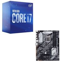 Intel Core i7-10700, ASUS Z490 Prime, CPU / Motherboard Bundle