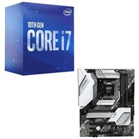 Intel Core i7-10700, ASUS Z490-A Prime, CPU / Motherboard Bundle