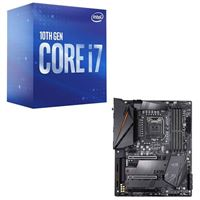 Intel Core i7-10700, Gigabyte Z490 Aorus PRO AX, CPU / Motherboard Bundle